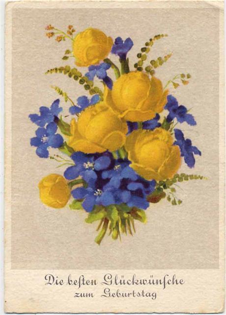 Die Besten Glückwünsche Zum Geburtstag Blumenstrauß