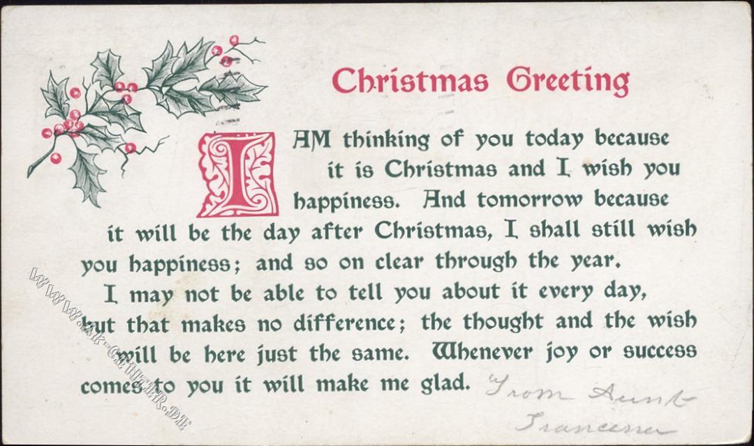 weihnachts sprüche englisch