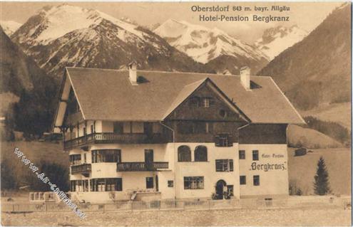 8980 Oberstdorf Oberstdorf, Hotel-Pension Bergkranz