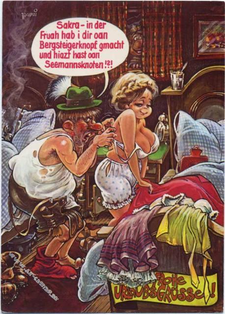 Humor Erotik Spruchcosy Preissenkung Ansichtskarten