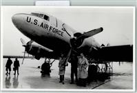 1956 Privatfoto AK Luftwaffe nach 1945 U.S. Air Force  Horst Brendel