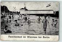 1000 Wannsee 1907 Wannsee Familienbad Fahne