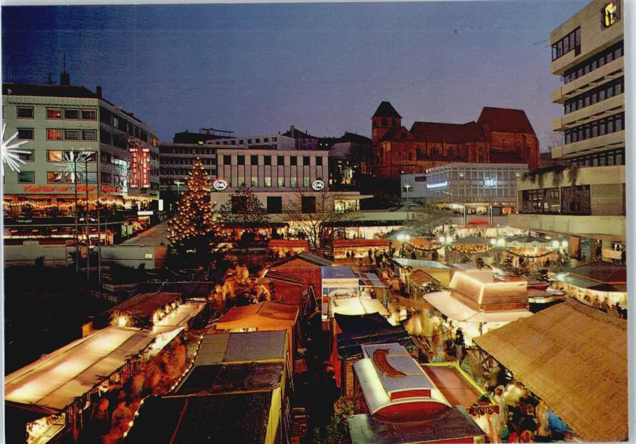 Pforzheimer Weihnachtsmarkt.7530 Pforzheim Weihnachtsmarkt Preissenkung Ansichtskarten Center