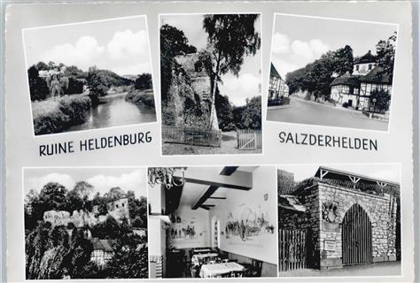 3352 Salzderhelden Burgruine, Café, Restaurant Burgschänke ...