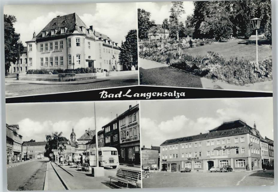 5820 Bad Langensalza Hotel Schwan Ansichtskarten Center Onlineshop