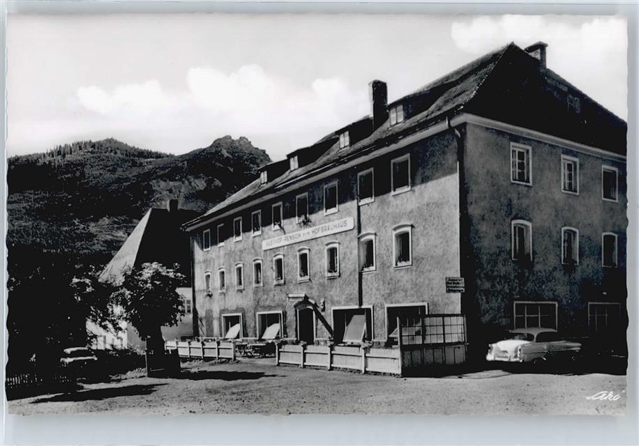 8373 Bodenmais Hotel Hofbrauhaus Inh Oskar Fruhstorfer