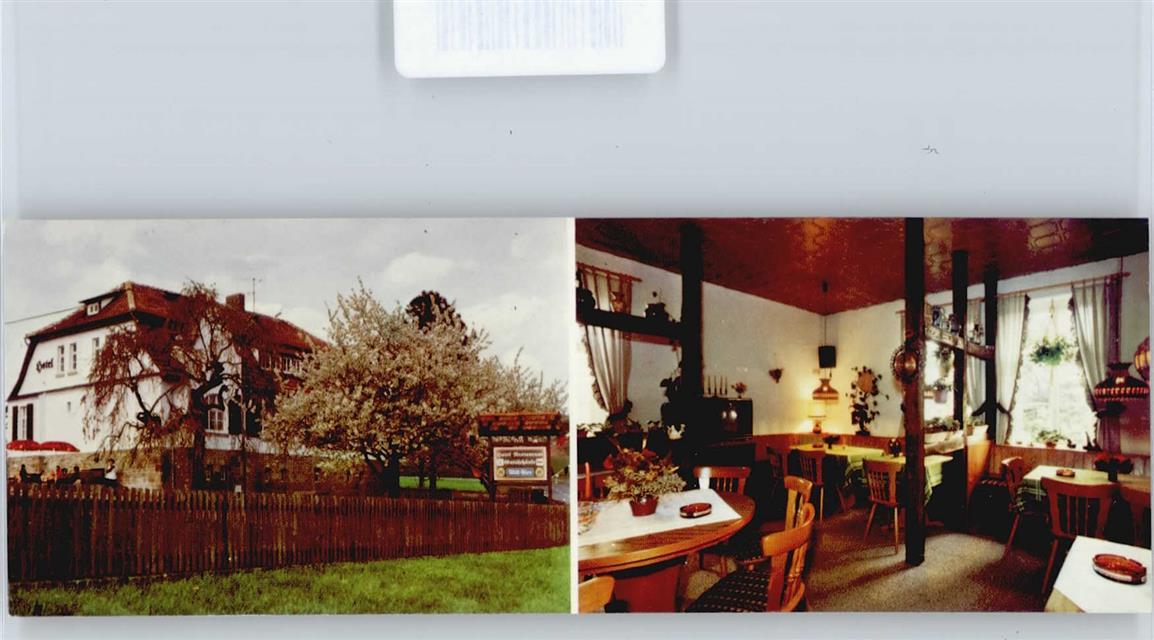 3443 Herleshausen Hotel, Restaurant Gutsschänke: Ansichtskarten ...