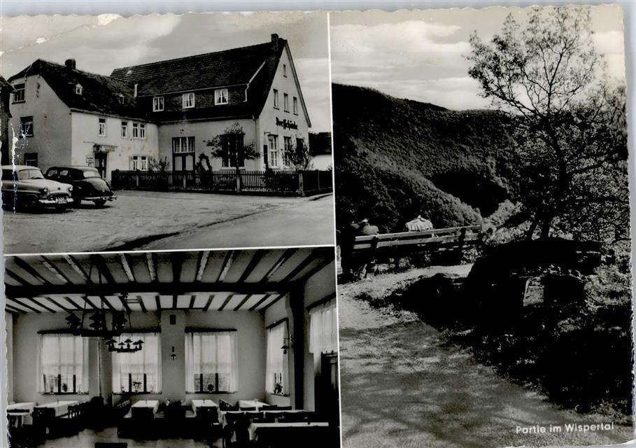 6223 Espenschied Gaststätte, Pension Zur Dorfschänke: Ansichtskarten ...