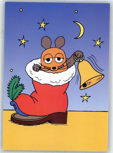 Comic Bilder Weihnachten.Die Sendung Mit Der Maus Weihnachten Comic Ansichtskarten Center