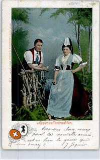 Appenzell 1902 Tracht