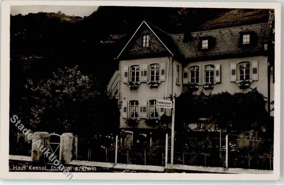 5422 Ehrenthal Haus Kessel Rheinblick Pension: Ansichtskarten-Center ...