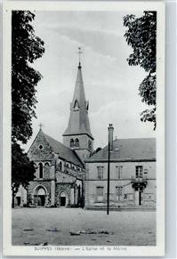 Suippes 1951 Kirche