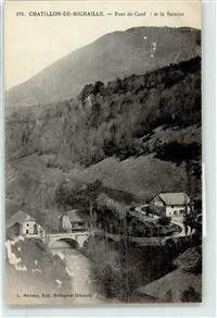 Chatillon-en-Michaille 1912 Nantua