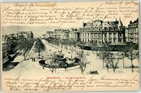 Valence 1900 Lithographie Boulvevard