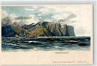 Nordkapp Lithographie