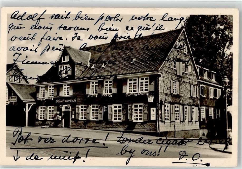 5632 Wermelskirchen Hotel Zur Eich Franz Jörgens: Ansichtskarten ...