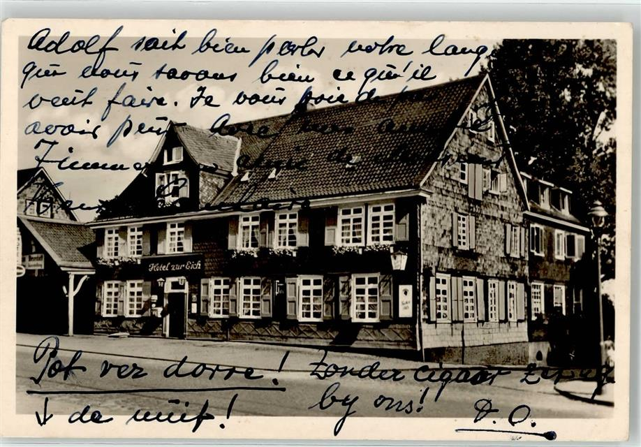 5632 Wermelskirchen Hotel Zur Eich Franz Jörgens ...
