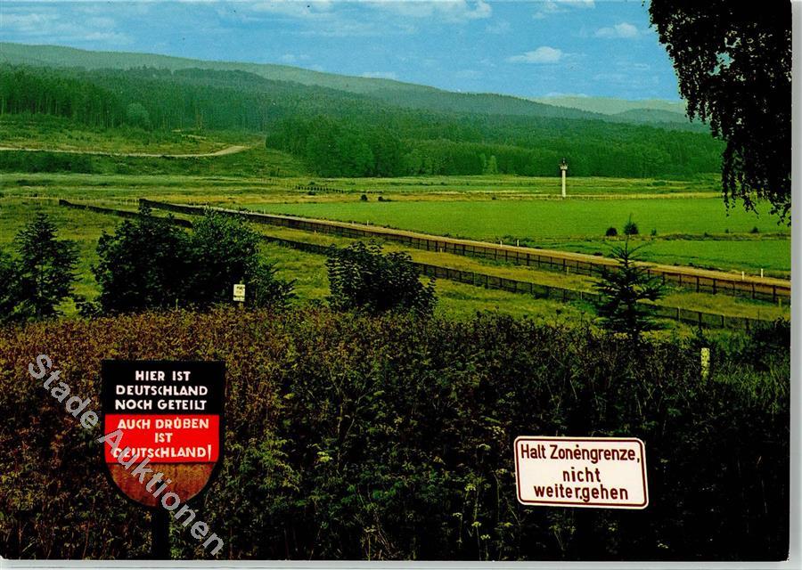 Ddr Grenze Karte Harz.Grenze Zur Ddr Im Harz Ansichtskarten Center Onlineshop