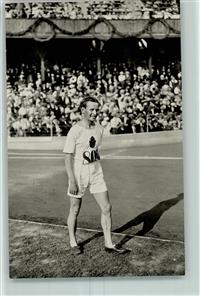 Stockholm 1912 Foto AK Nr. 110 H. Kohlemainen Finnland, who won the 10.000 m race AK
