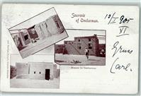 Omdurman 1905 Houses  Sudan