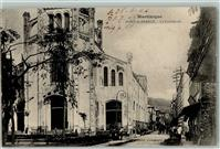 Fort-de-France 1906 La Cathedrale Martinique