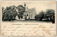 Montmorency 1899 Schloss Sarcelles