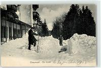 Chaumont 1905 Winter Hiver