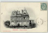 Hericourt 1904 Chateau Schwob  Arras