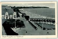Zoppot 1940 Gasthaus Schwimmbad Strand Zoppot / Sopot (Stadt)