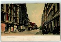 2850 Bremerhaven 1908 Lithographie Judaika Handlung Lewy & Co Bürgermeister Smidtstrasse
