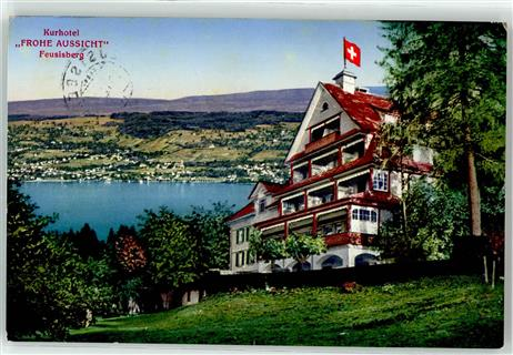 Feusisberg 1935 Hotel frohe Aussicht