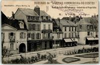 Bourges 1915 Place Berry 24 Feldpost WK I Nr. 77