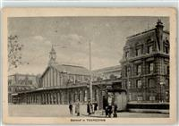 Tourcoing 1918 Bahnhof Lille