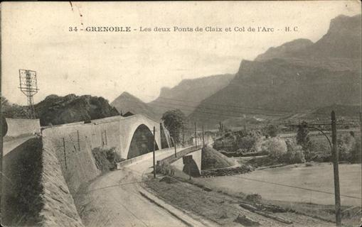 Grenoble Ponts de Claix Clo Arc / Grenoble /Arrond. de Grenoble
