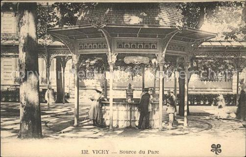 Vichy Allier Source du Parc Vichy