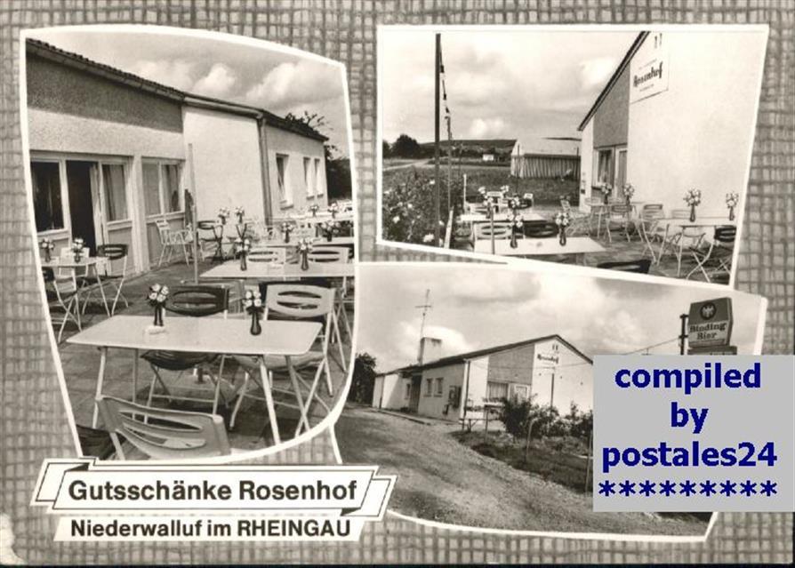 Niederwalluf Niederwalluf Gutsschaenke Rosenhof x Walluf ...