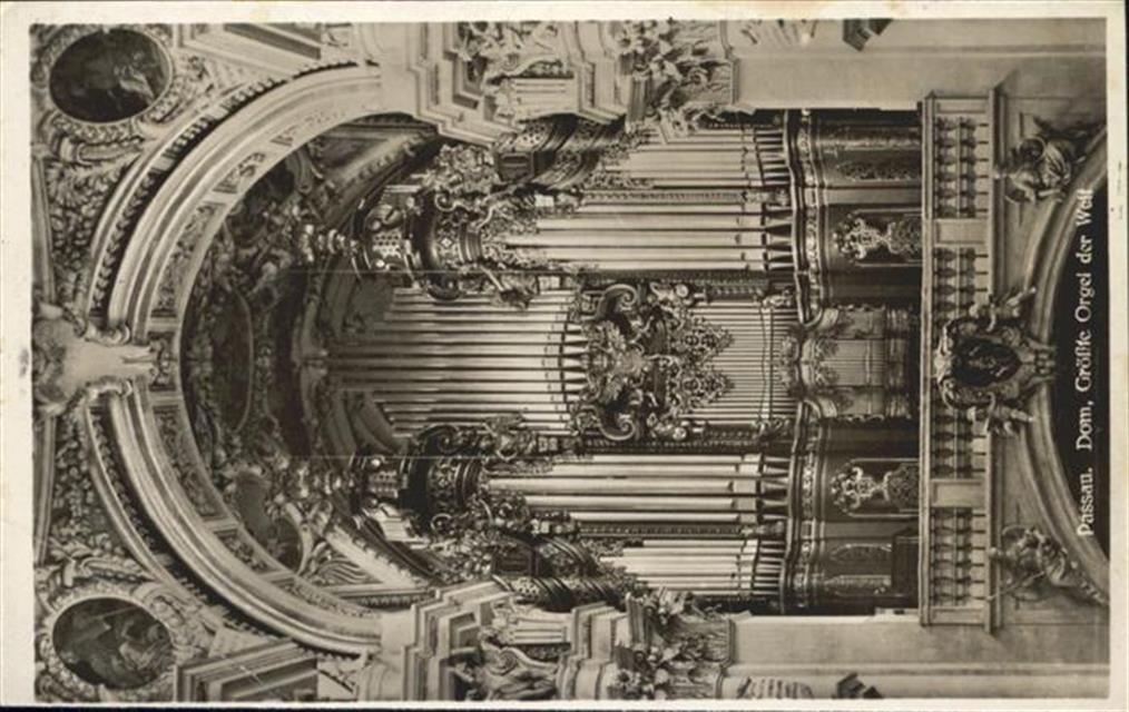 Passau Passau Dom Orgel Passau Ansichtskarten Center Onlineshop