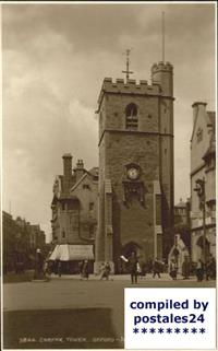Oxford Oxfordshire Carfax Tower Oxford