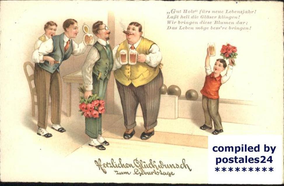 Geburtstag Bier Kegeln Geburtstag Ansichtskarten Center Onlineshop