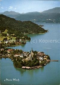 Maria Woerth Woerthersee Panorama See Wappen Maria Woerth