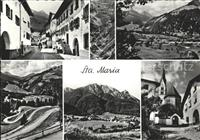 Sta Maria Muestair Ansichten Muenstertal / Sta. Maria Val Muestair /Bz.