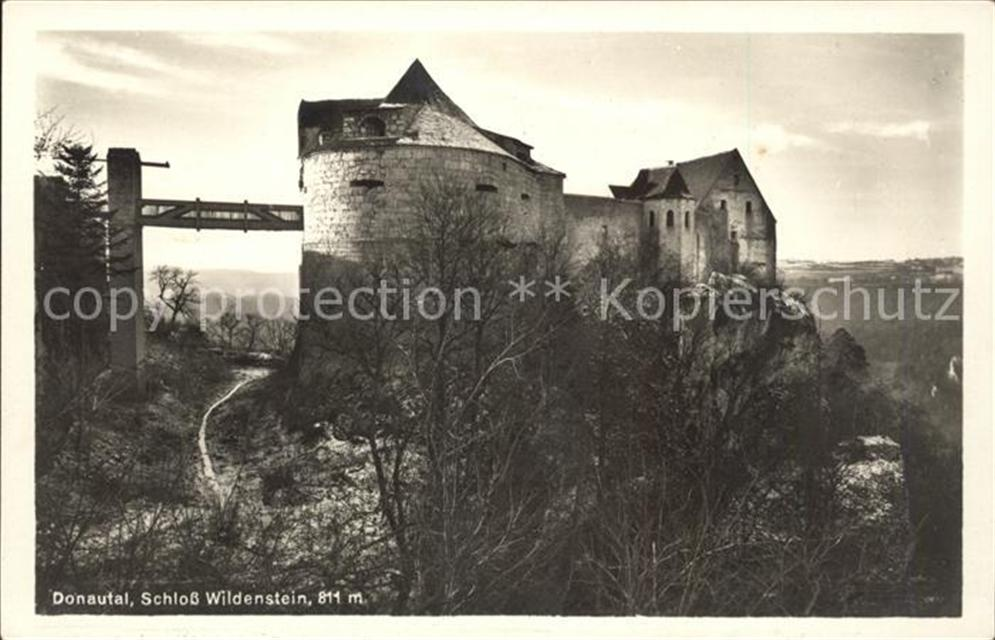 Donautal Schloss Wildenstein Donautal Ansichtskarten Center Onlineshop