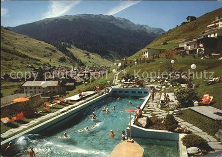 Bad Vals GR Thermal Schwimmbad Vals