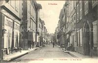Pamiers Rue Major Pamiers