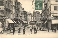 Abbeville Somme Rue Alfred Cendre Stempel auf AK Abbeville