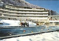 Bad Vals GR Thermal Schwimmbad Kurhotel Therme Vals