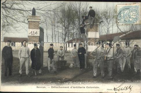 Sevran Detachement dArtillerie Coloniale Sevran