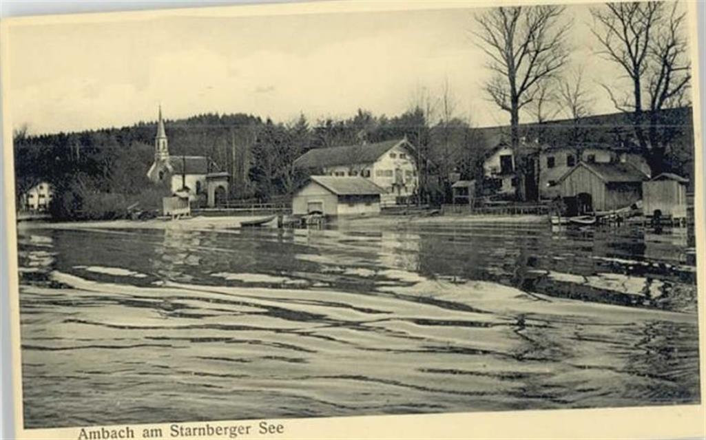 Ambach Ambach Starnberger See ungelaufen ca. 1910: Ansichtskarten ...