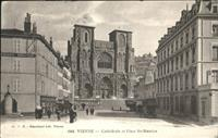 Vienne Vienne Cathedrale Place St. Maurice x