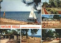 Andernos-les-Bains Fontaine Vieille Camping Segelboot Andernos-les-Bain